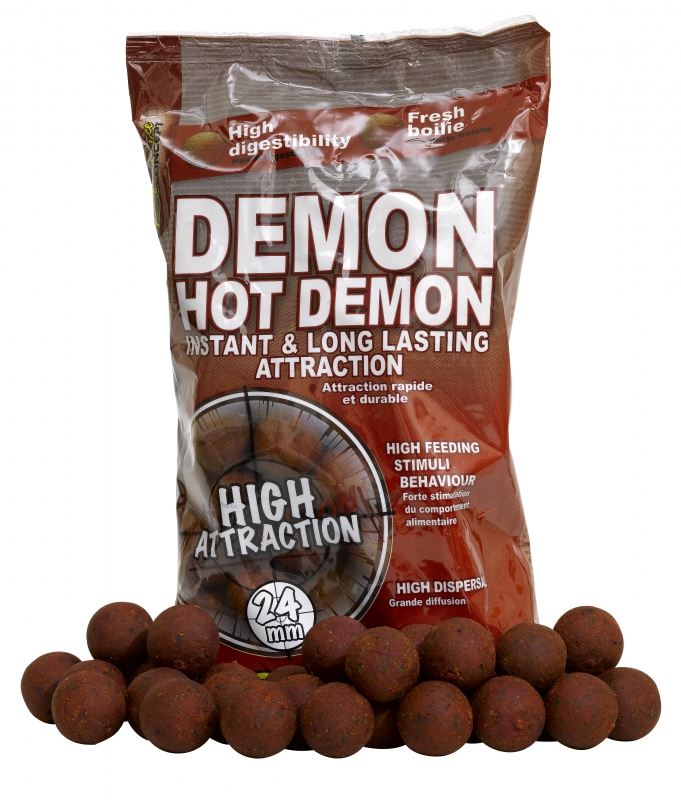 STARBAITS - Boilies Hot Demon 24mm / 1kg