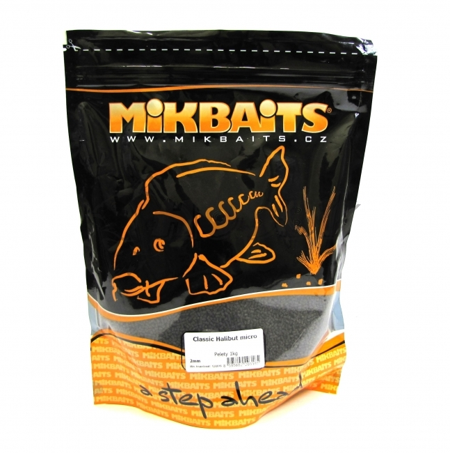 MIKBAITS - Pelety Classic Halibut Micro 2mm / 1kg