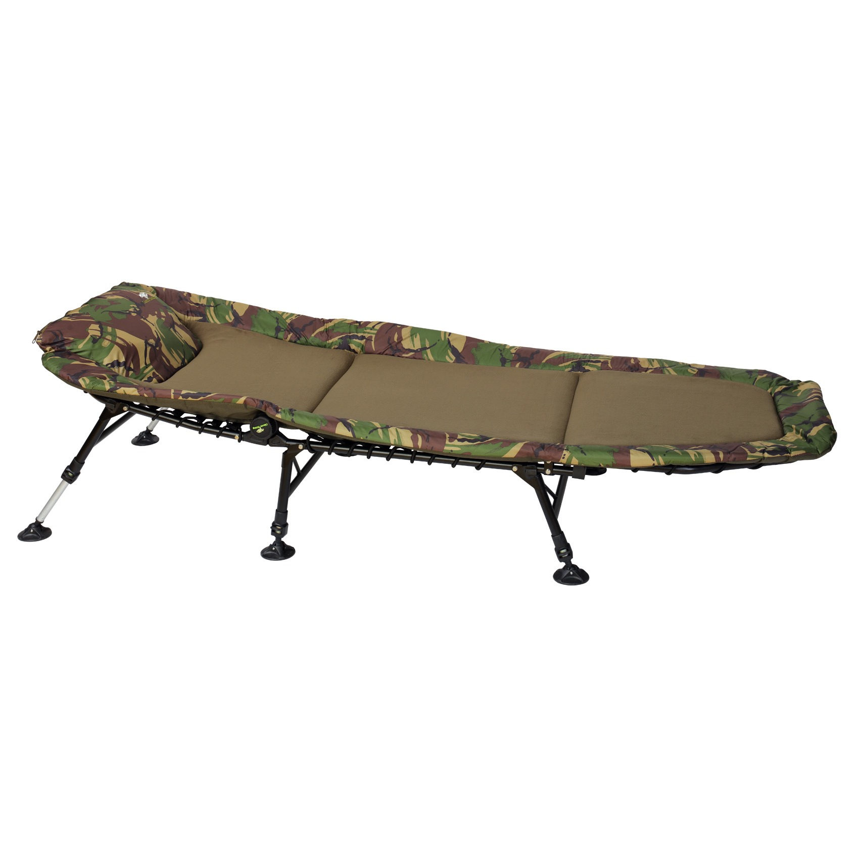 GIANTS FISHING - Lehátko Bedchair Fleece Camo 6leg