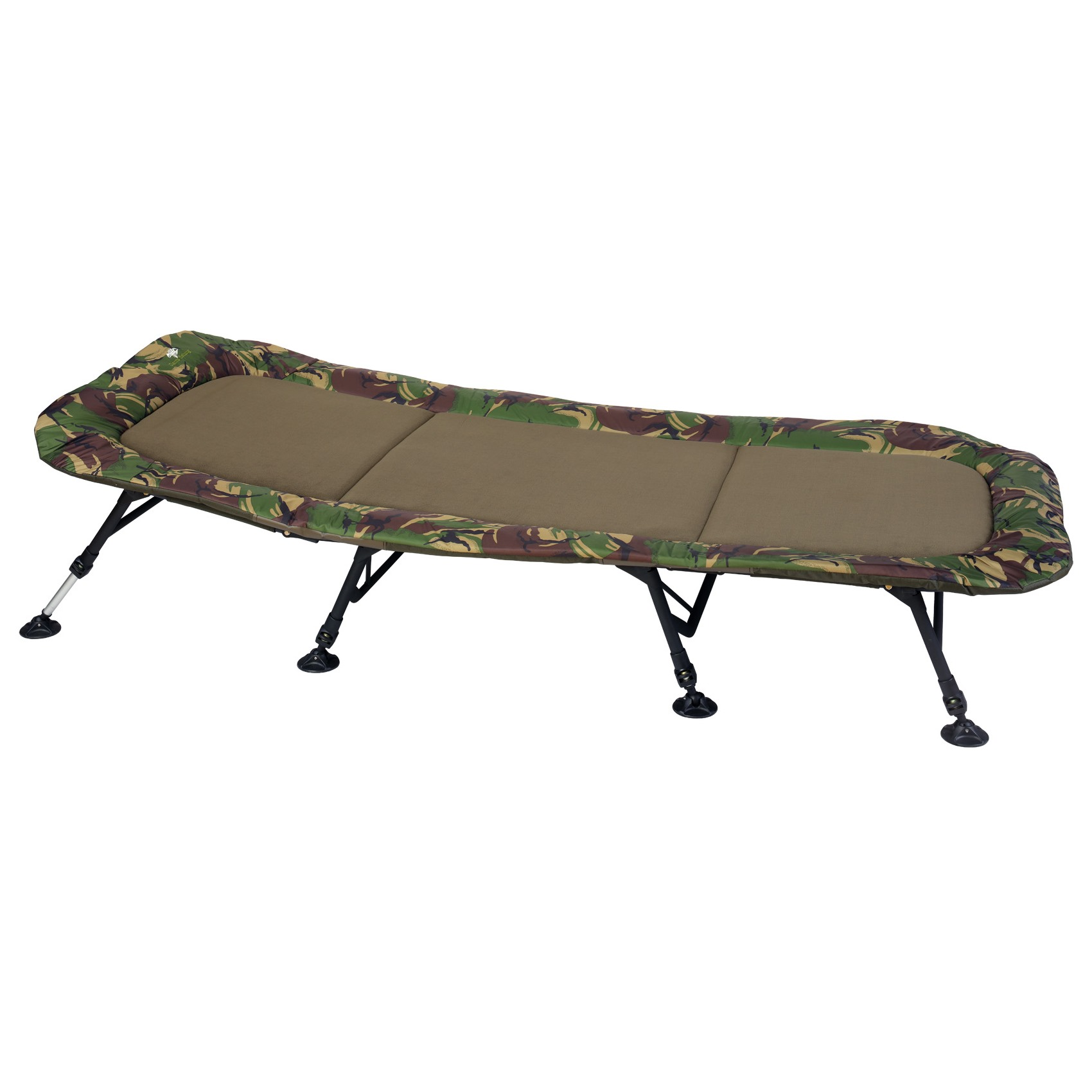 GIANTS FISHING - Lehátko Bedchair Flat Fleece Camo XXL 8leg