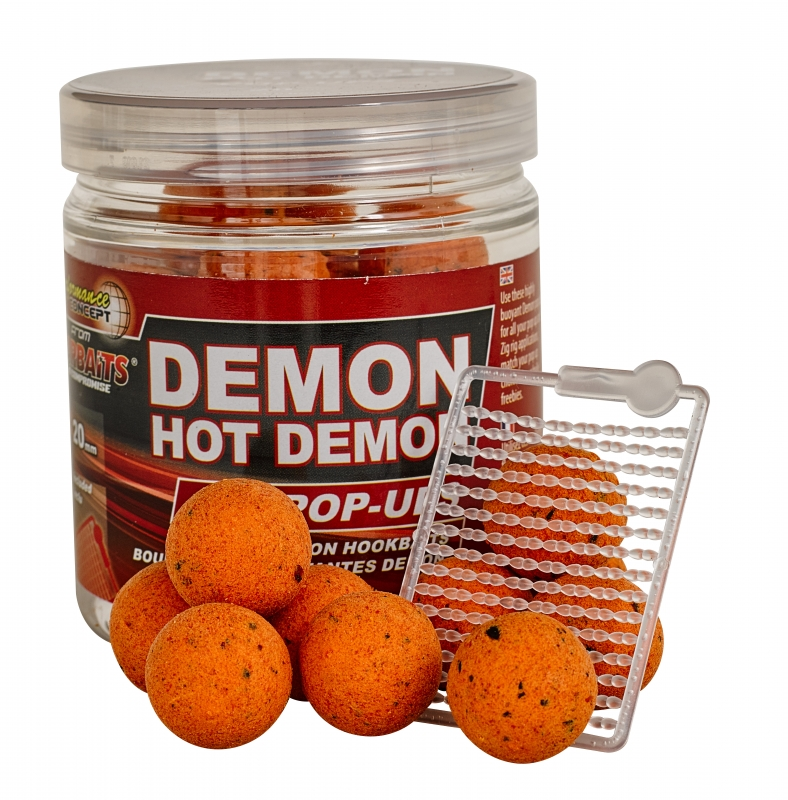 STARBAITS - Plovoucí boilies Hot Demon 20mm / 80gr.