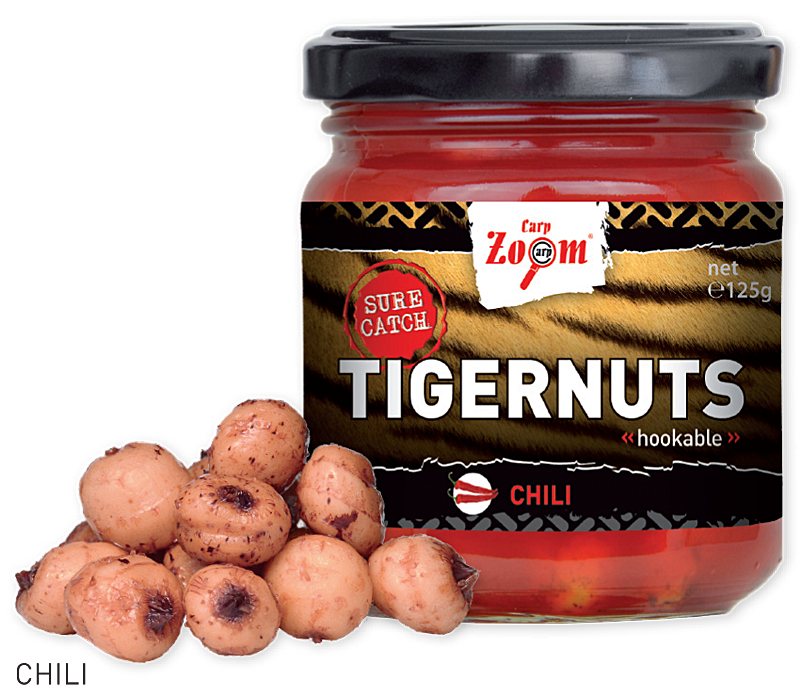 CARP ZOOM - Tygří ořech Tigernuts 220ml / Chili