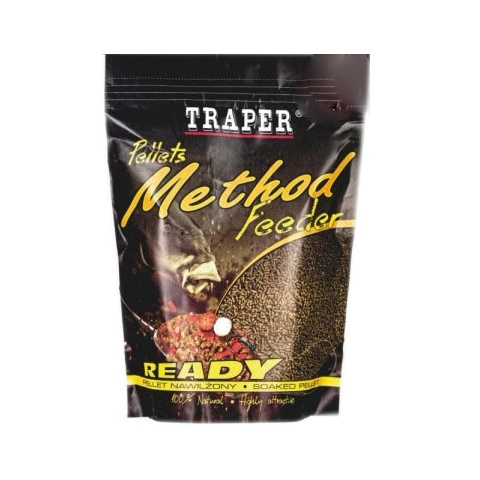 TRAPER Vlhčené pelety Method Feeder Ready PATENTKA 500g 2mm