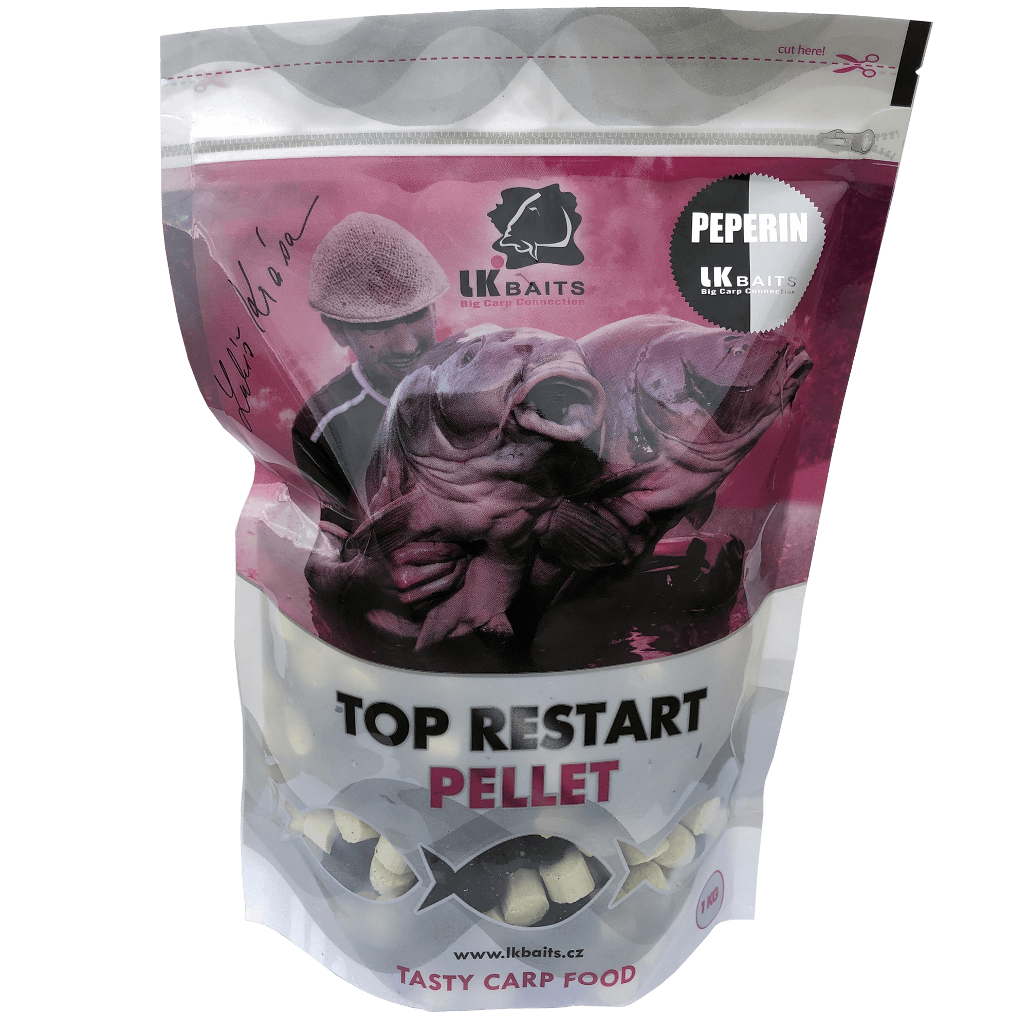 LK BAITS - Pelety Top Restart Pellets Peperin 1kg / 12-17mm