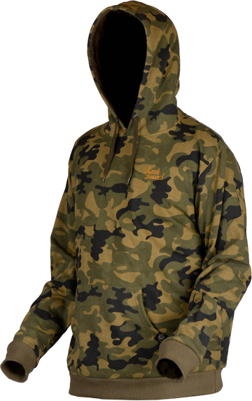 PROLOGIC Mikina Bank Bound Camo Hoodie L