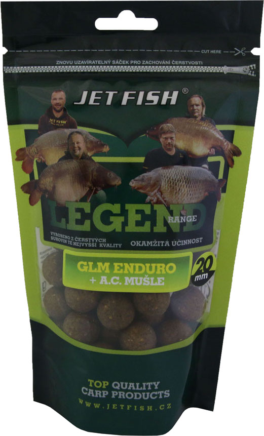 JET FISH - Boilies Legend Range 250gr. / 20mm / GLM ENDURO