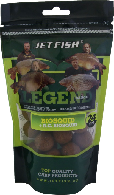 JET FISH - Boilies Legend Range 250gr. / 24mm / BIOSQUID