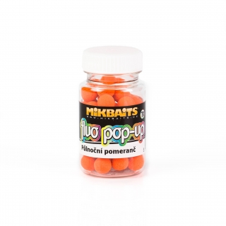 MIKBAITS - Plovoucí boilies Fluo Pop-up boilie 60ml / 10mm / PAMPELIŠKA