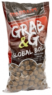 STARBAITS Boilies Grab&Go Global 10kg MEGAFISH
