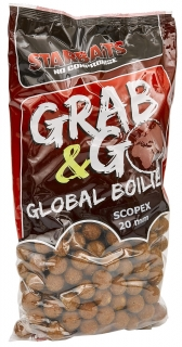 STARBAITS Boilies Grab&Go Global 10kg SCOPEX