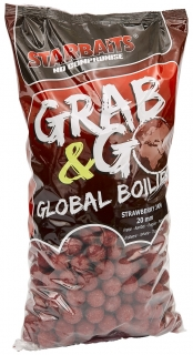 STARBAITS Boilies Grab&Go Global 10kg STRAWBERRY JAM