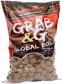 STARBAITS Boilies Grab&Go Global Halibut 10kg 20mm