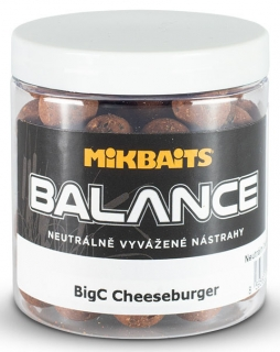 MIBAITS Boilie Balance BigC Cheeseburger 250ml 20mm