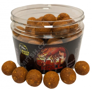 BLACK CARP Boilies Chilli Krill 300g 20mm