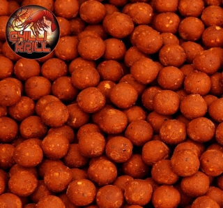 BLACK CARP Boilies Chilli Krill 1kg 24mm