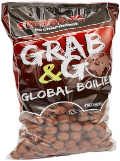 STARBAITS Boilies Grab&Go Global Tigernuts 10kg 20mm