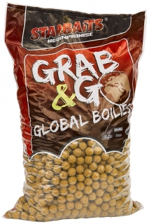 STARBAITS Boilies Grab&Go Global Banana Cream 10kg 20mm