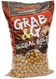 STARBAITS Boilies Grab&Go Global Sweetcorn 10kg 20mm
