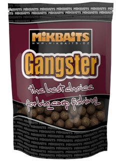 MIKBAITS Boilies Gangster GSP Black Squid 1kg 20mm