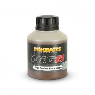MIKBAITS Booster BigB Broskev Black Pepper 250ml