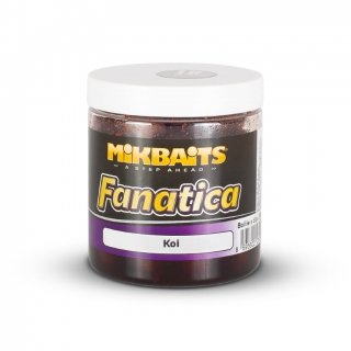 MIKBAITS Boilies v dipu Fanatica Koi 250ml 20mm