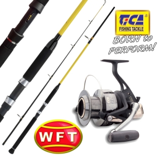 WFT - Prut Never Crack Big Fish 270cm / 700gr. + TICA - Naviják Cybernetic GG100