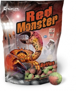 RADICAL Boilies Red Monster 1kg 20mm
