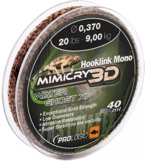 PROLOGIC Vlasec Hookline Mono Mimicry 3D Mirage XP 40m / 0,405mm