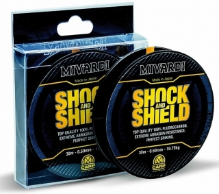 MIVARDI Šokový vlasec Shock&Shield 30m 0,60mm