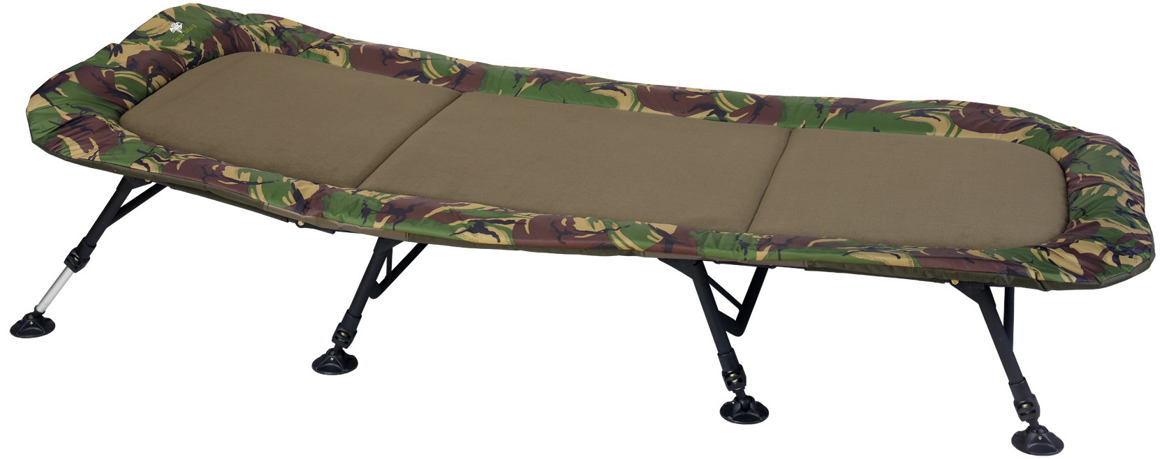Giants Fishing Lehátko Bedchair Flat Fleece Camo 8leg