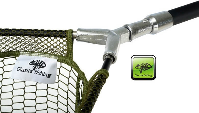 Giants Fishing podberak Carp plus 42 Landing net - kovovy stred
