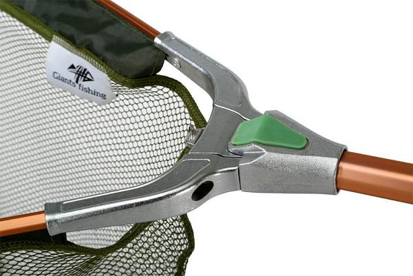 Giants Fishing podberak Specialist Landing net - kovovy stred